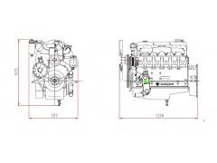 销售韩国斗山D1146T系列柴油机性能技术参数