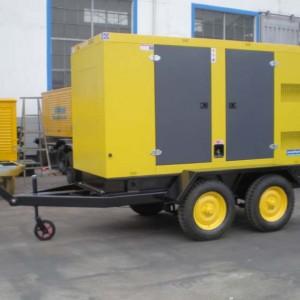 移动式低噪音柴油发电机组