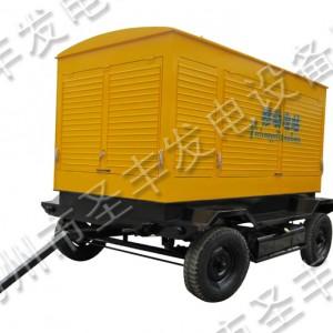 柴油发电机组移动拖车电站外形尺寸