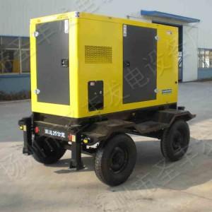20-50KW4轮移动低噪音柴油发电机组