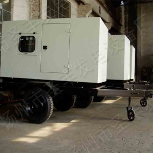10-30KW移动式3轮低噪音柴油发电机组