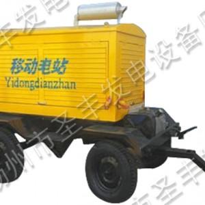 玉柴50KW移动式柴油发电机组