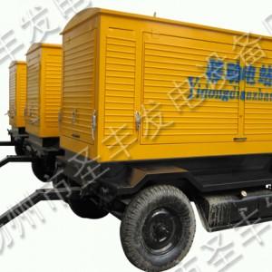 无动100KW移动式柴油发电机组