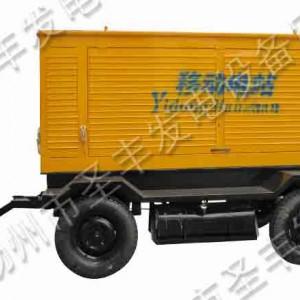 玉柴120KW移动式柴油发电机组