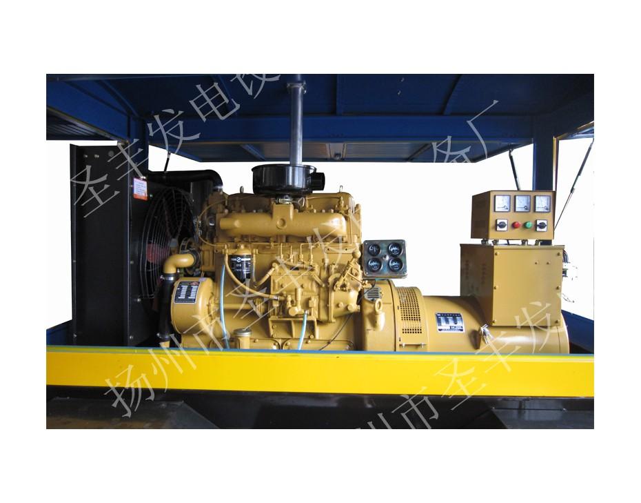 昆山康沃75KW柴油发电机组图片4135AD (2)