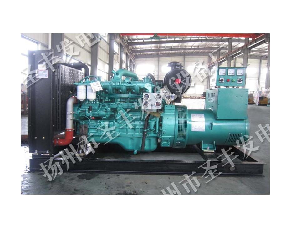 玉柴80KW柴油发电机组图片YC6B135Z-D20