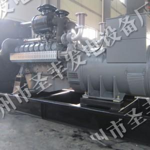 中美合资威曼500千瓦柴油发电机组D22A3