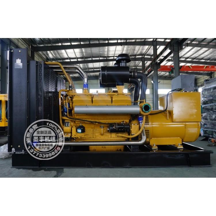 乾能500KW柴油发电机组12V135BZLD