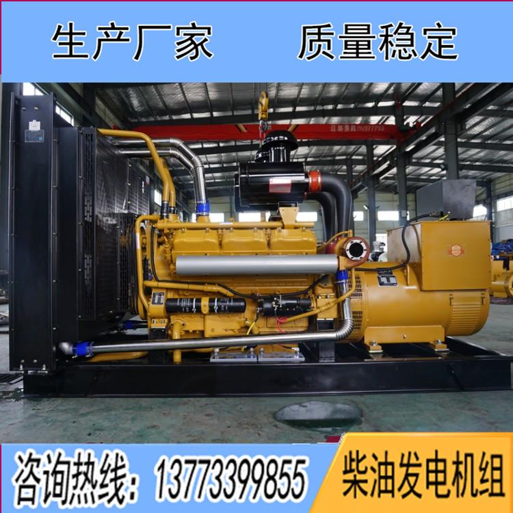 东风研究所700KW柴油发电机组SY296TAD72