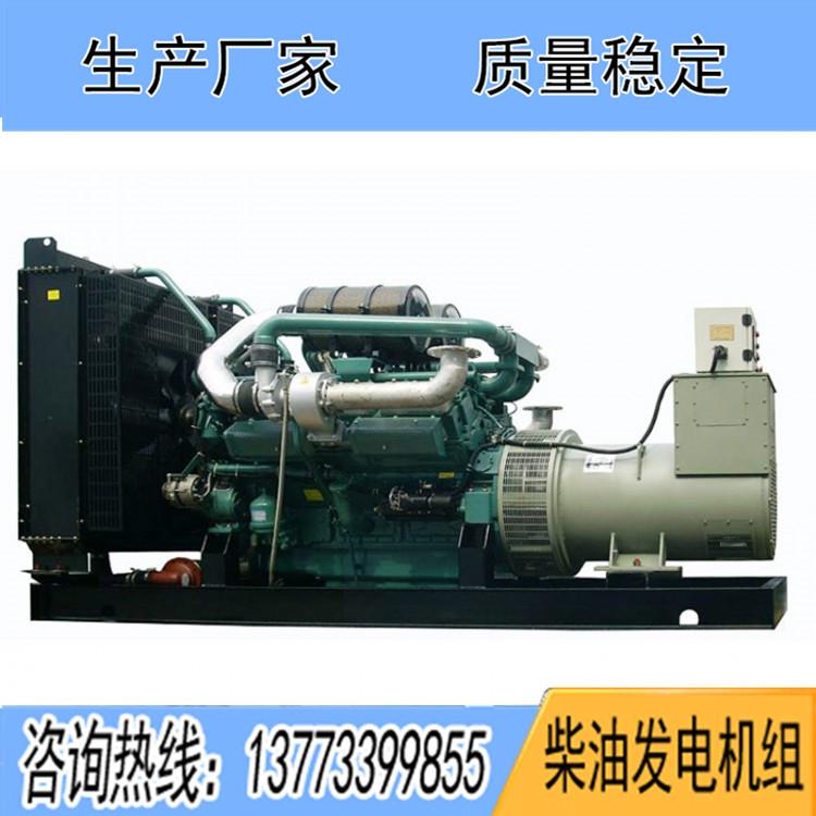 南通股份600KW柴油发电机组TC283LW58