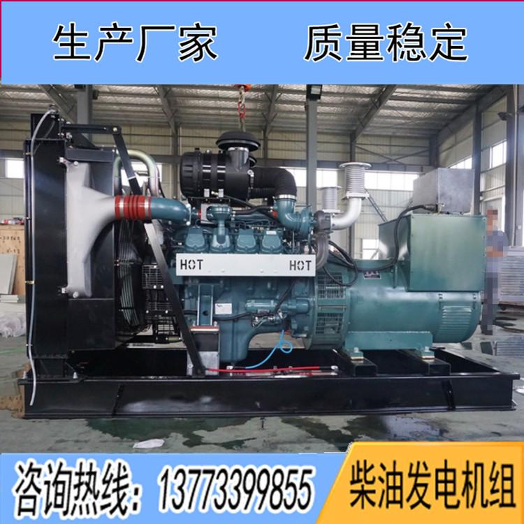 韩国斗山500KW柴油发电组DP158LD