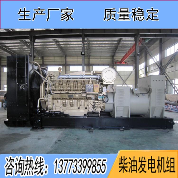 济柴700KW柴油机组