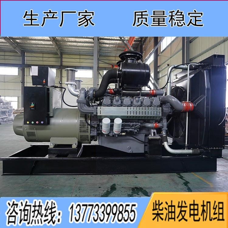 威曼650KW柴油机组