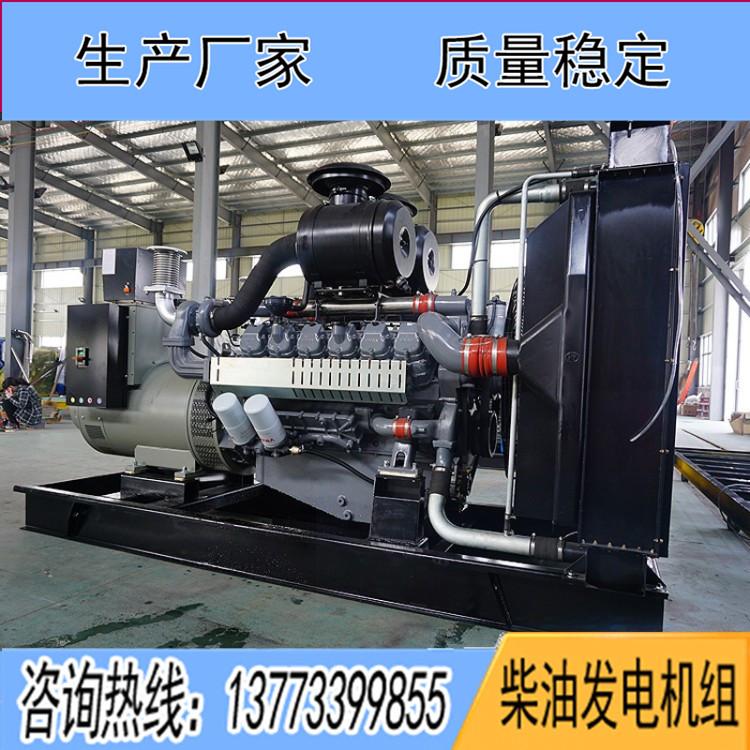 威曼505KW柴油发电机组
