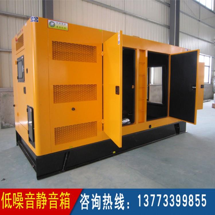600-800KW固定式低噪音箱体 (不含柴油机组价格)