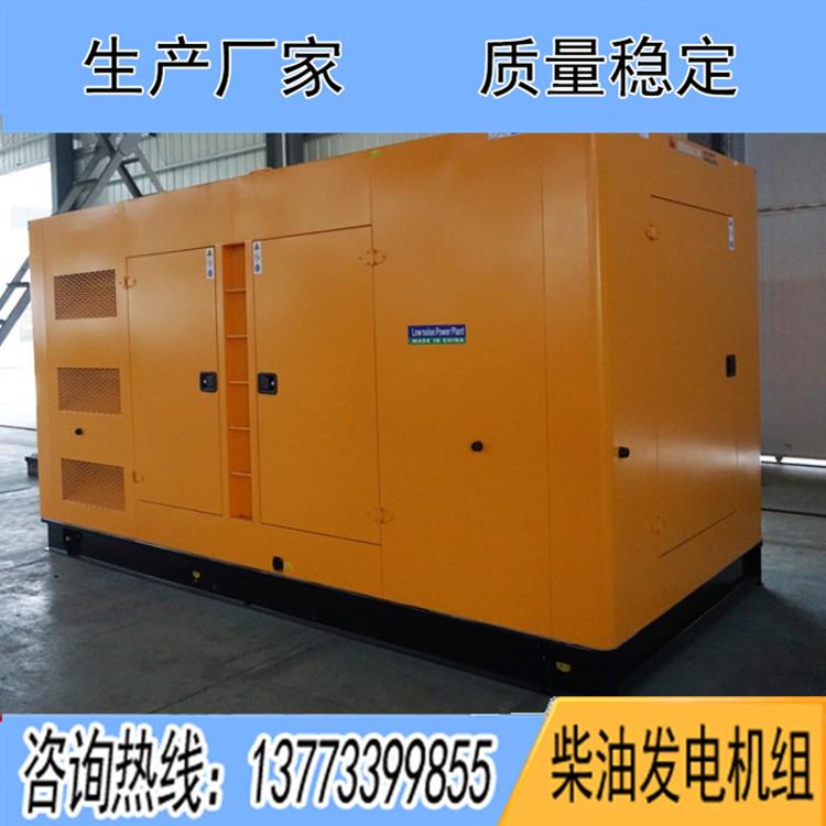 800-1000KW固定低噪音机组箱体(不含机组)