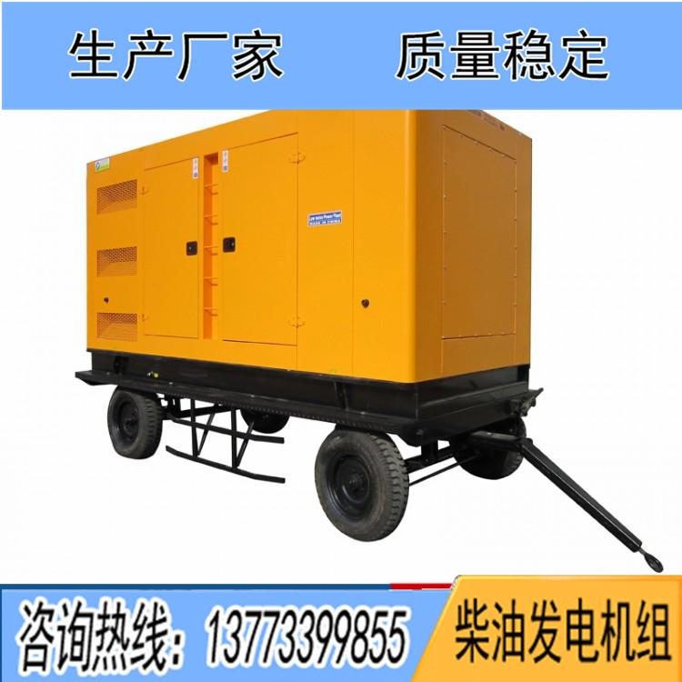 150-300KW移动四轮低噪音箱体 6缸机组适用(不含机组)