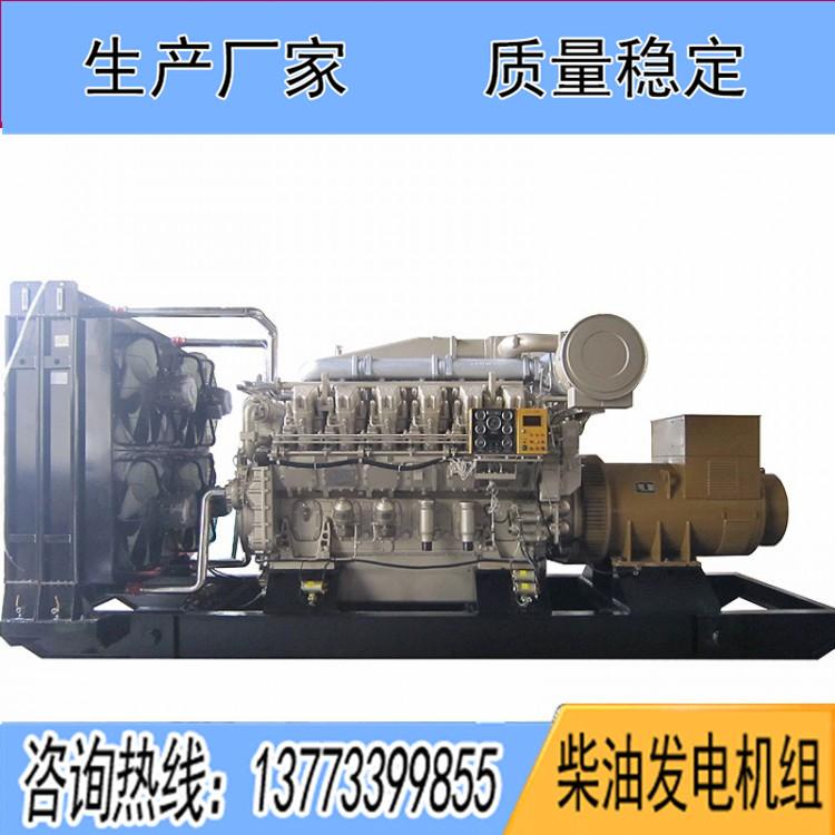 山东济柴400千瓦柴油发电机组JC15