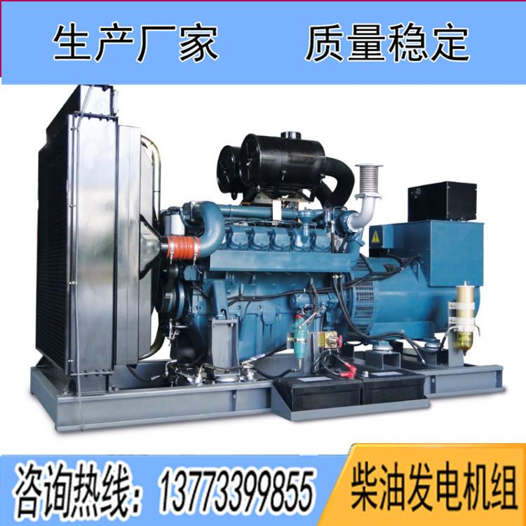 科曼500千瓦柴油发电机组12KMV-670