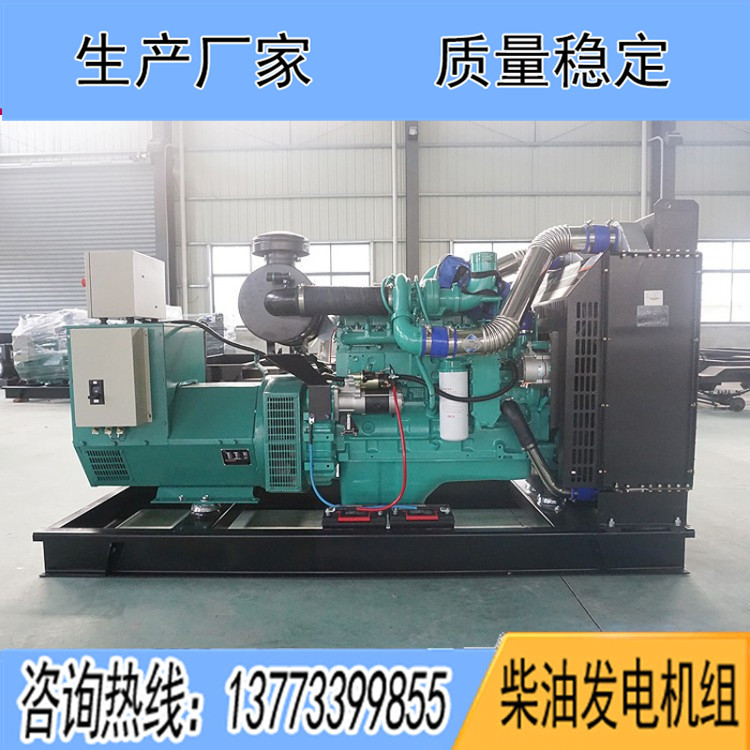 东风康明斯350KW柴油发电机组6ZTAA13-G2
