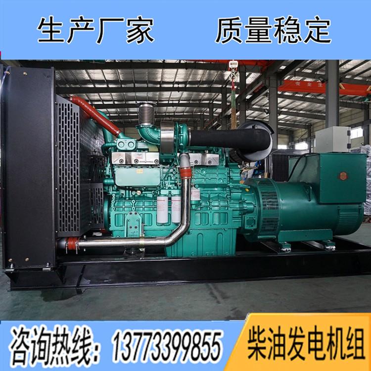 玉柴450千瓦柴油发电机组YC6T700L-D20