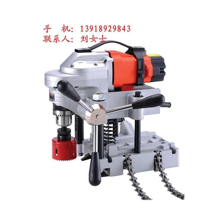 上海供应快速钻孔的管子钻孔机,操作方便,自带固定器