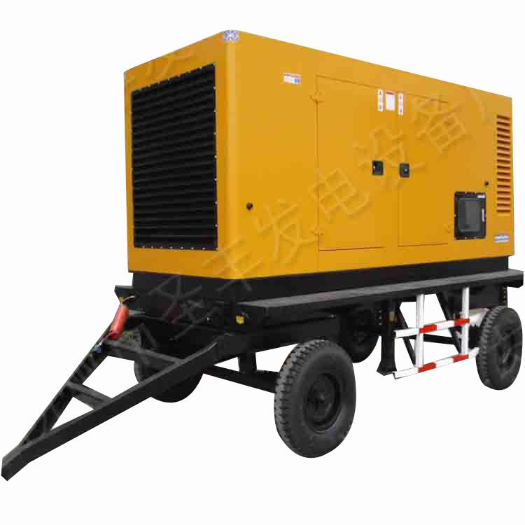 500KW柴油发电机组移动静音箱