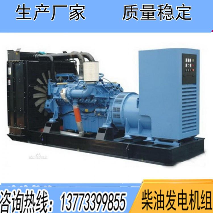 奔驰500KW柴油发电机组12V1600G10F