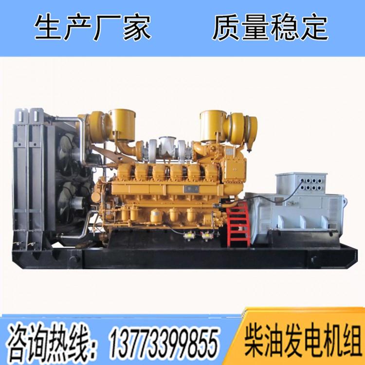 山东济柴500KW柴油发电机组Z8V190