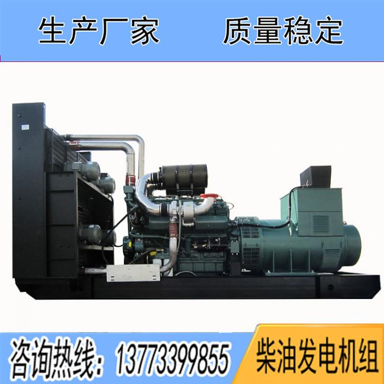 南通股份1600KW柴油发电机组NCG12V2483