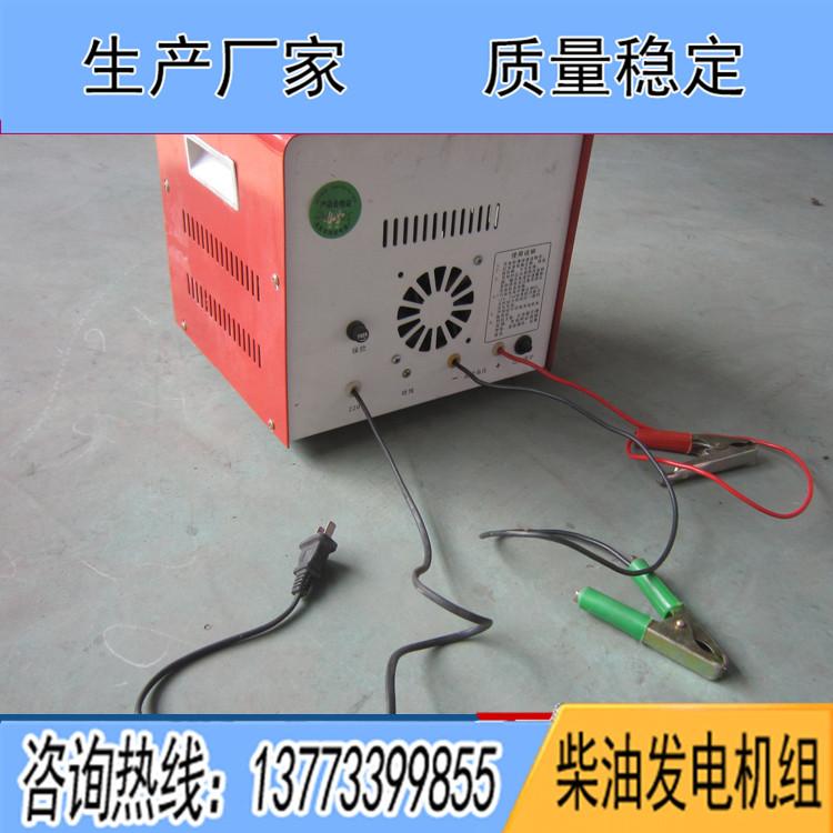 柴油发电机组专用蓄电池充电器 铅酸电瓶充电机
