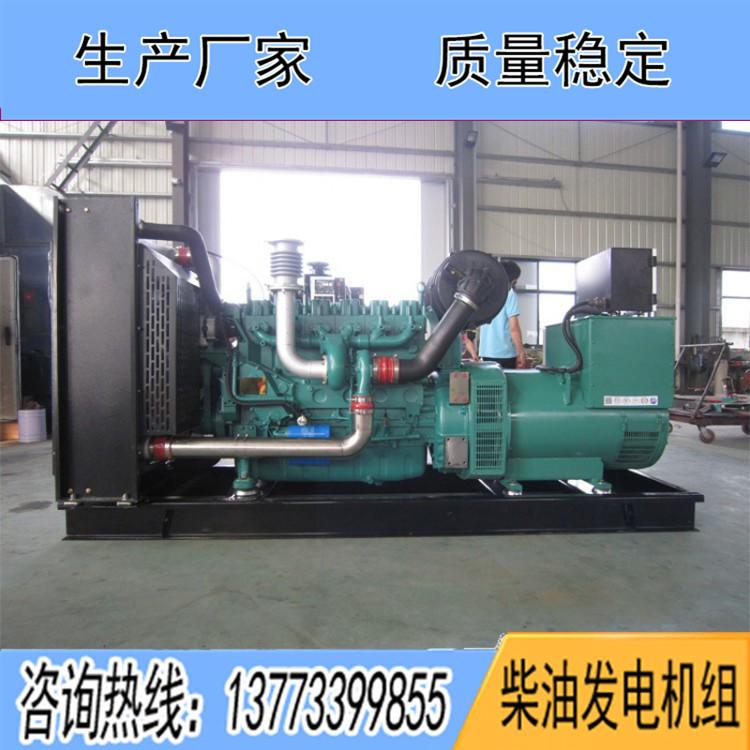 潍柴蓝擎400KW柴油发电机组