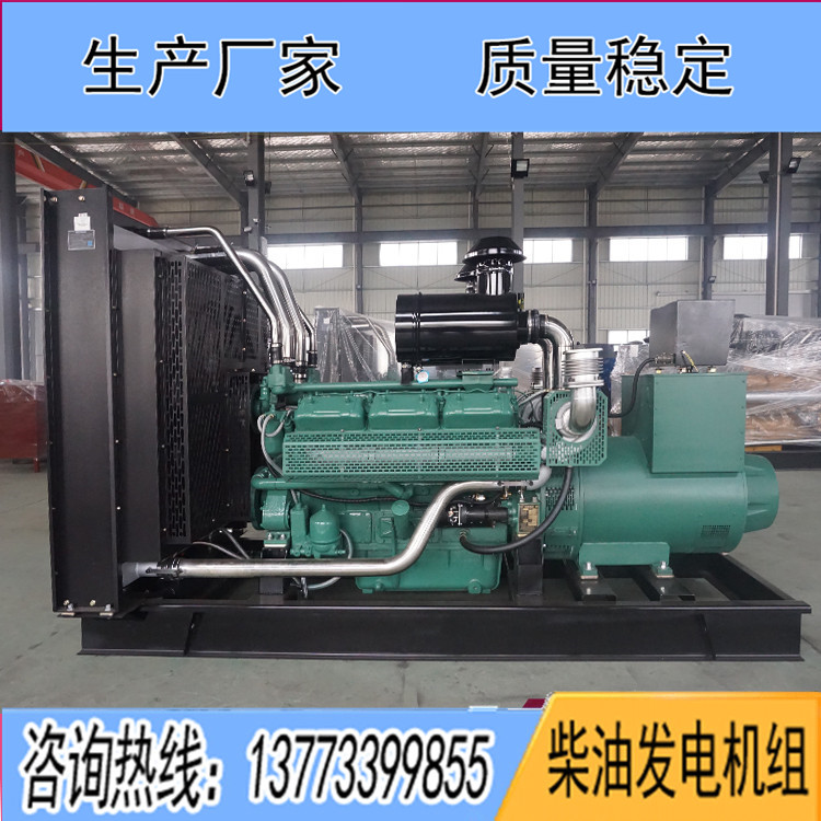 无锡万迪动力400KW柴油发电机组WD269TAD43