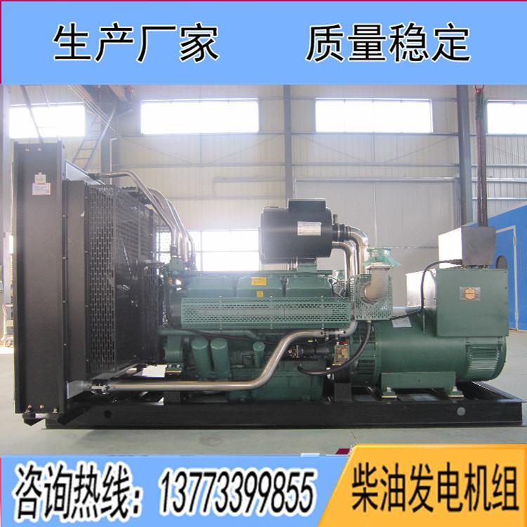 无锡万迪动力500千瓦柴油发电机组WD269TAD50