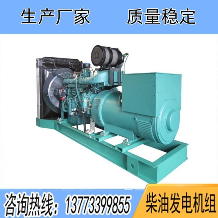 沃尔沃500KW柴油发电机组TWD1643GE