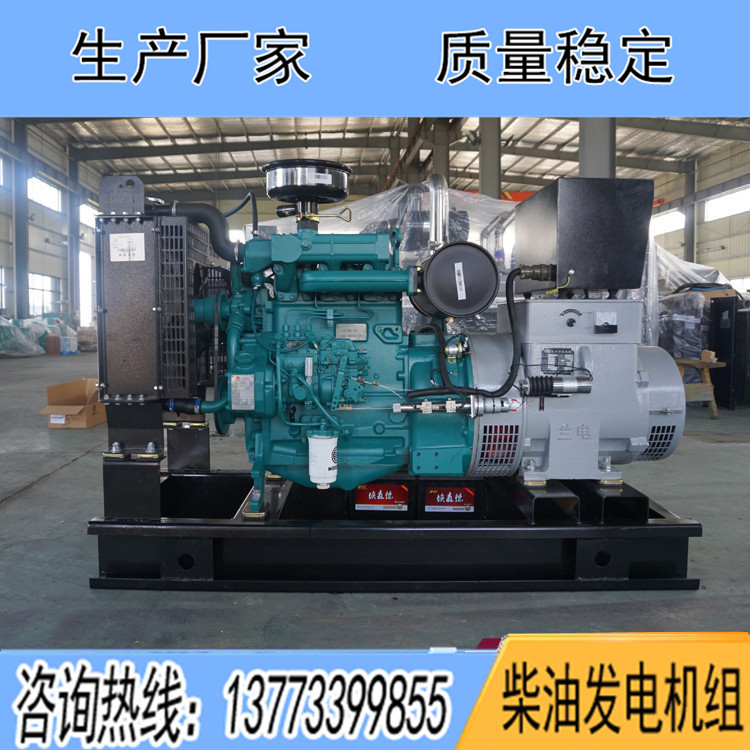 潍柴道依茨50KW柴油机组WP4D66E200