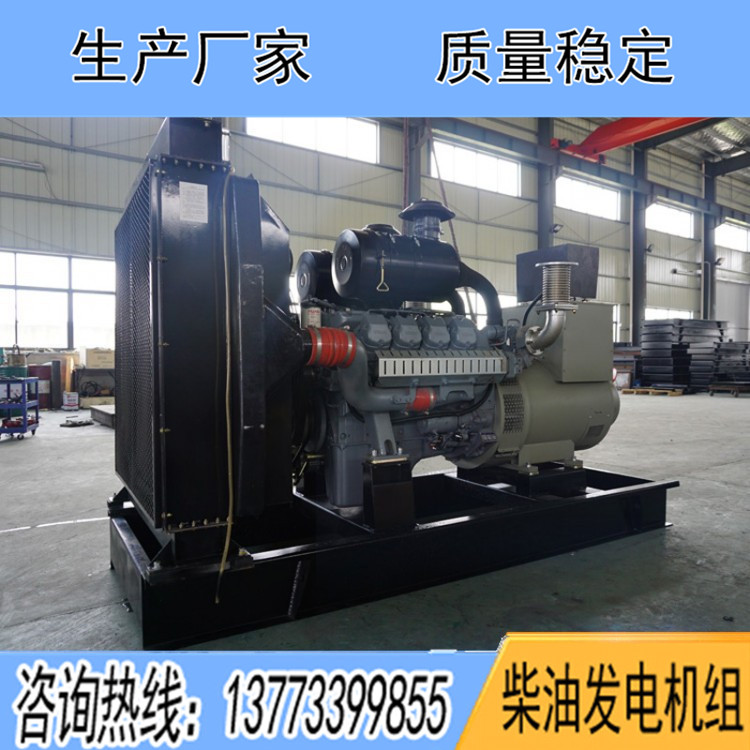 威曼400千瓦柴油发电机组D15A1