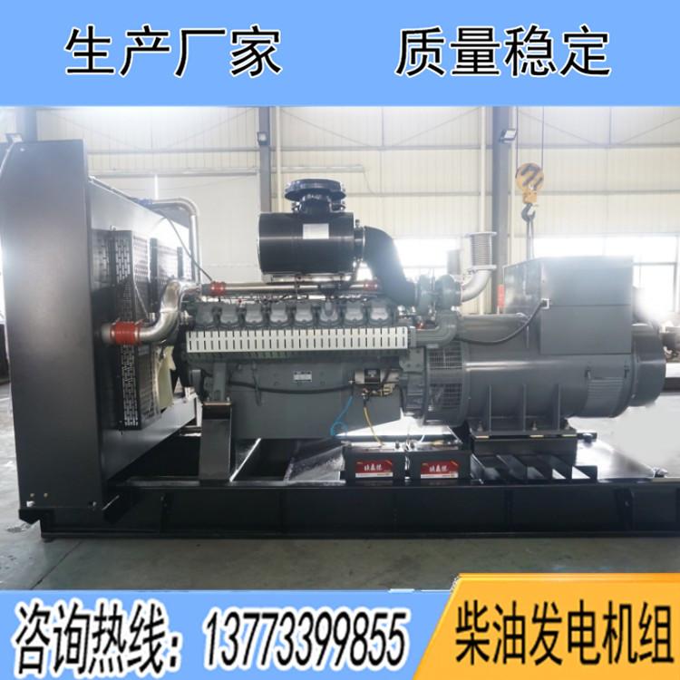 威曼900千瓦柴油发电机组D30A1
