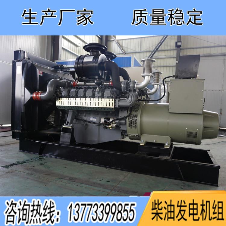 威曼600KW柴油发电机组D22A