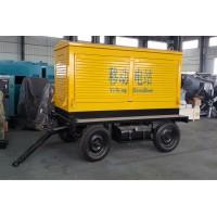 柴油发电机组移动拖车