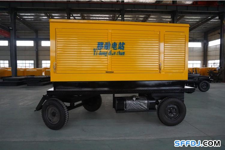 200KW移动拖车