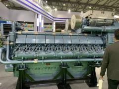 展会柴油发电机照片