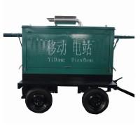 配套50KW柴油发电机组移动拖车价格