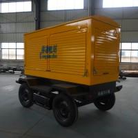 配套150KW柴油发电机组移动拖车价格