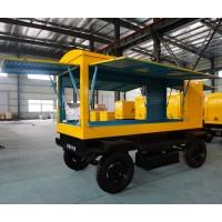 配套300KW柴油发电机组移动拖车价格