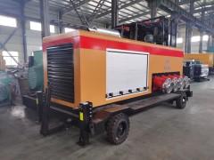 移动泵车机组