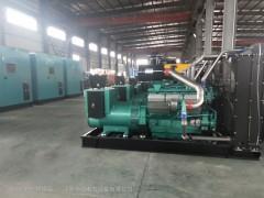 柴油发电机工厂产品展示图