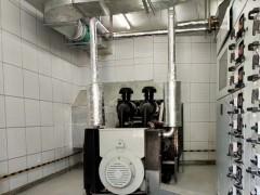 上柴股份柴油发电机配套英格发电机安装机房