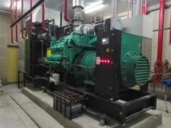 科克柴油发电机机房安装完成