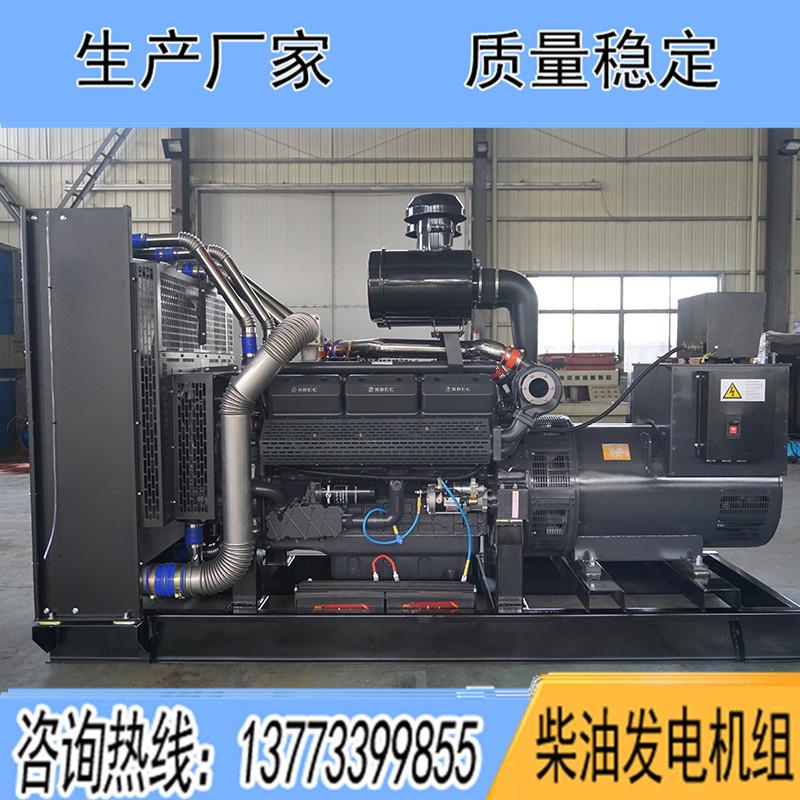 SC25G690D2上柴股份500KW柴油发电机组报价